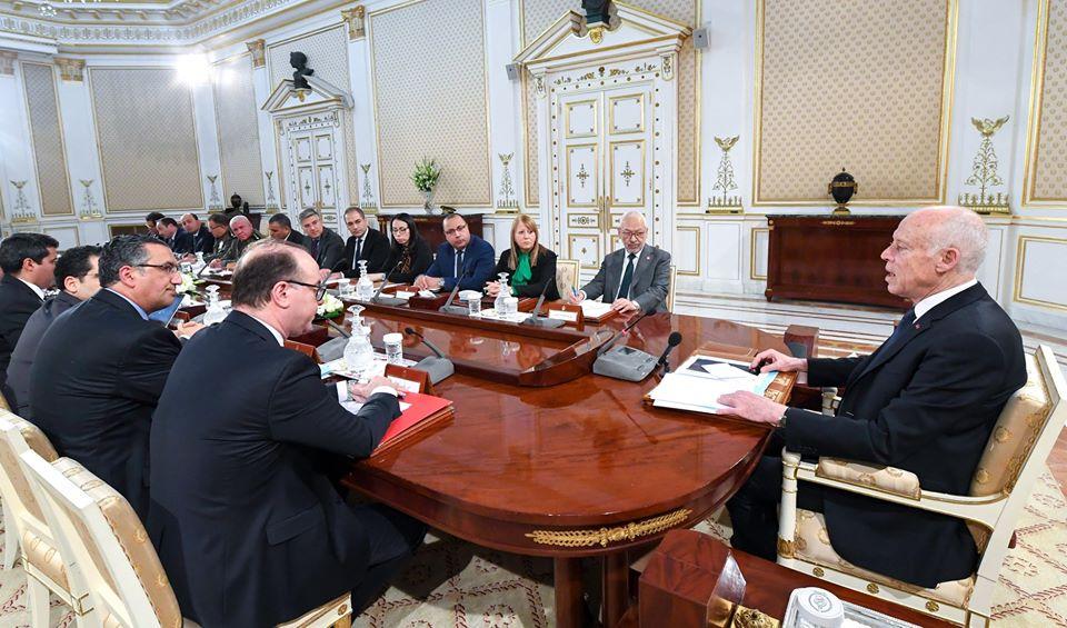 تعليقا على كلمة رئيس  الجمهورية بمجلس الأمن القومي