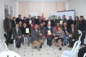 صورة جماعية في تقديم الكتاب بالرابطة